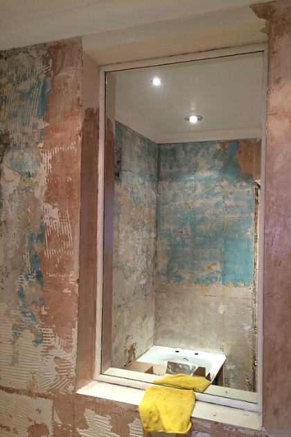 Bathroom in Dartford 2 (During) | Quality Plumbing