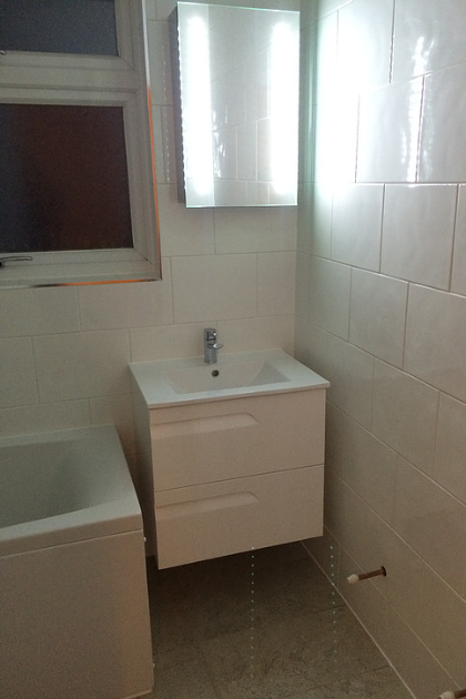 Bathroom in Darenth (During) | Quality Plumbing